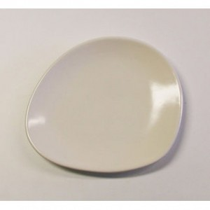 Organics Side Plate Satin White